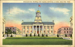 Administration Building, University Of Iowa