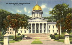 The Vermont State Capitol Building