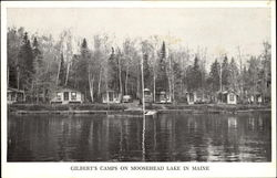 Gilbert's Camps On Moosehead Lake In Maine