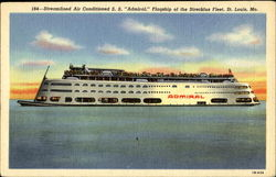 Streamlined Air Conditioned S. S. Admiral