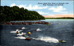 Annual Speed Boat Races On Kentucky Lake