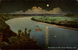 Moonlight On Ohio River