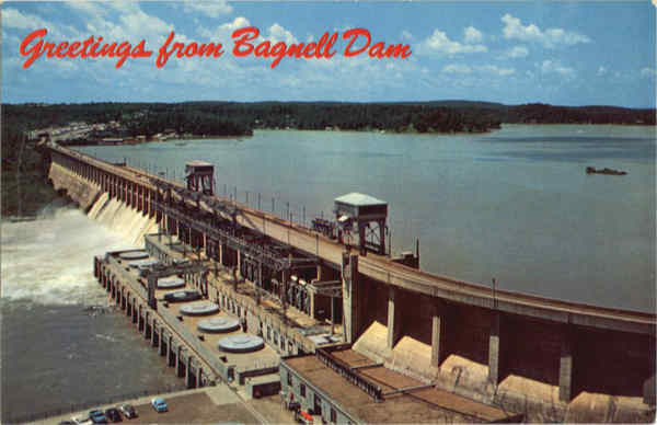Bagnell Dam and Lake of The Ozarks Lakeside Missouri