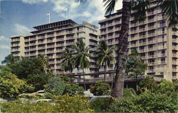 The Reef Towers Hotel Waikiki Hawaii