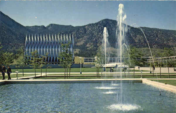 Cadet Chapel, U.S. Air Force Academy Colorado Springs