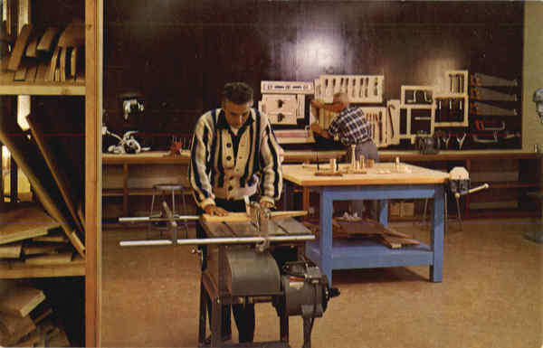 Woodworking Shop Kern City California