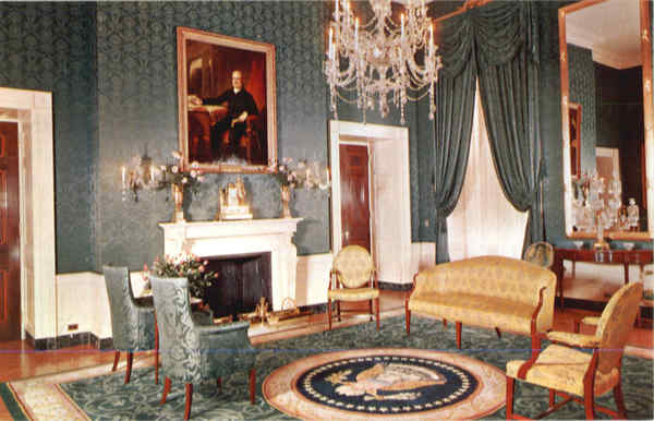 The Green Room, White House Washington District of Columbia