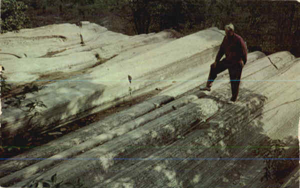 Ohio's Lake Erie Vacationland Glacial Grooves Kelleys Island-Lake Erie