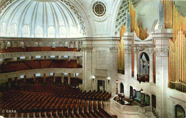 The First Church of Christ Scientist in Boston Massachusetts