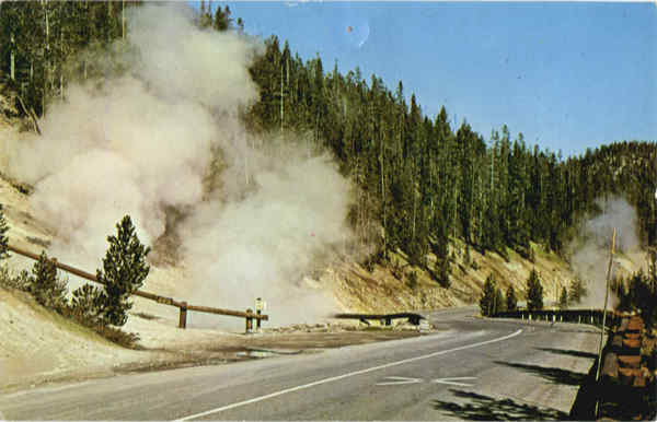 Beryl Spring Yellowstone Park Wyoming Yellowstone National Park