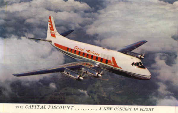 The Capital Viscount.... A New Concept in Flight Aircraft
