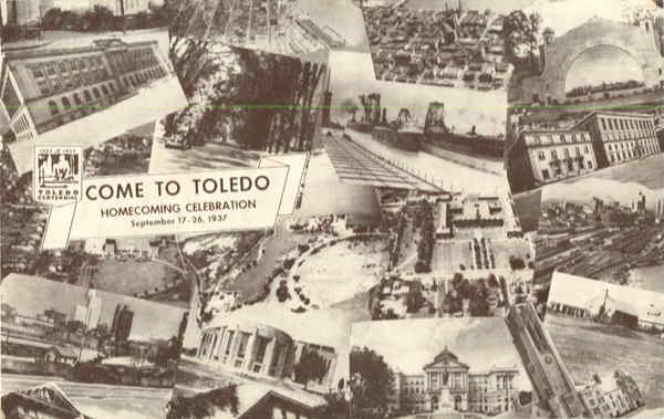 Come to Toledo multi view Toldedo Ohio