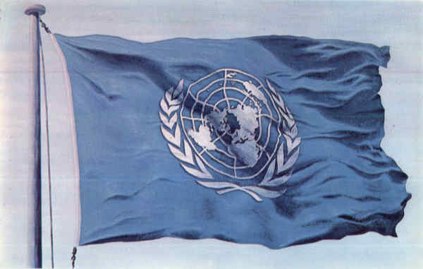 The Flag of the United Nations New York City