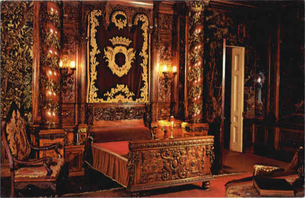 Vanderbilt Mansion Bedroom Hyde Park New York