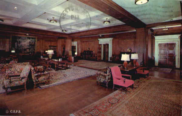 Reception Room Christian Science Building Boston Massachusetts