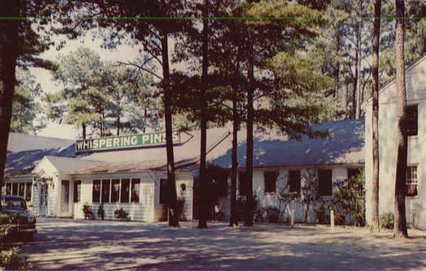 Whispering Pines Motel-Hotel, Ocean Hiway Accomac Virginia