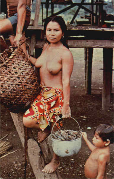 Woman belonging to the Waunana tribe Panama Risque & Nude