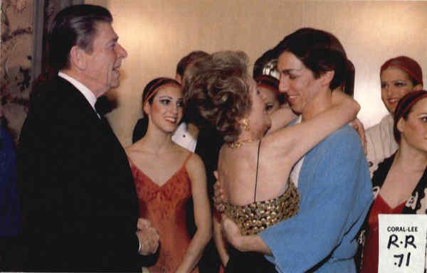 Ronald Reagan jr gay