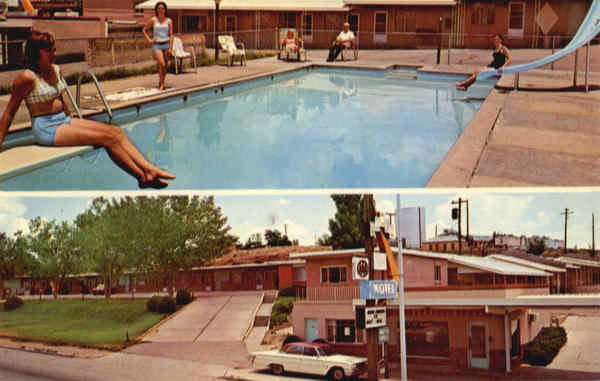 Tower Motel, 612 Parker Ave. . . . On U.S. Hwys. 66 - 54 & 84 Santa Rosa New Mexico
