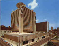 Regency Hyatt House Postcard