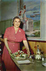 Mama Pappas at Tarpon Springs Restaurant