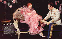 Jeanette Macdonald and Maurice Chevalier, Movieland Wax Museum