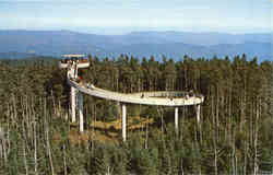 Observation Tower atop Clingmans Dome - Highest Peak