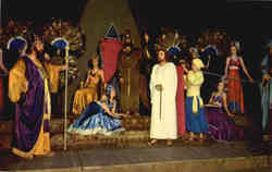 Jesus is brought before King Herod