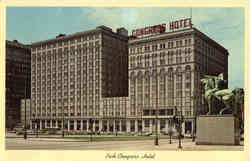 Pick-Congress Hotel, Michigan Avenue At Congress Street