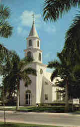 Trinity-By-The-Cove Episcopal Church, Port Royal Postcard