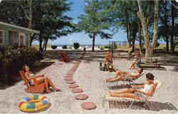 Cannons By-The-Sea Luxury Beach Cottages, Gulf of Mexico Drive Postcard