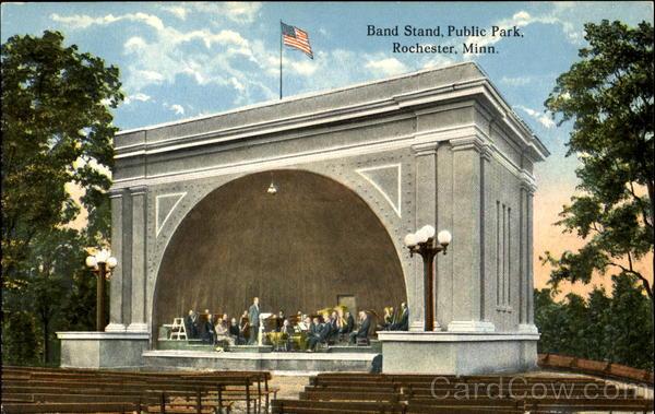 Band Stand Public Park Rochester Minnesota
