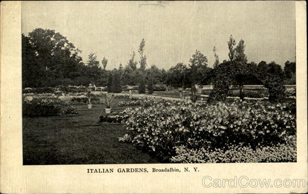 Italian Gardens Broadalbin New York