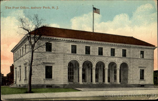 The Post Office Asbury Park New Jersey
