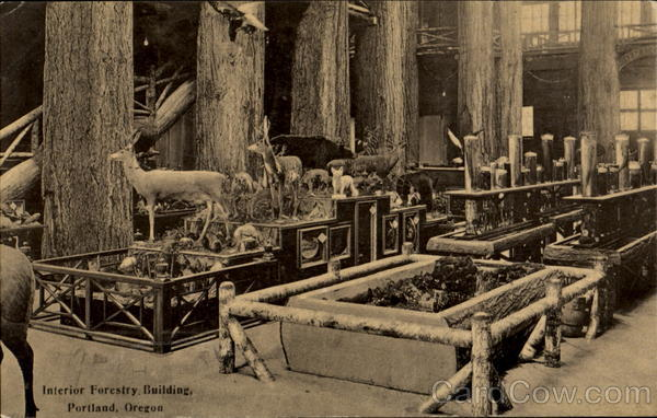 Interior Forestry Building Portland Oregon