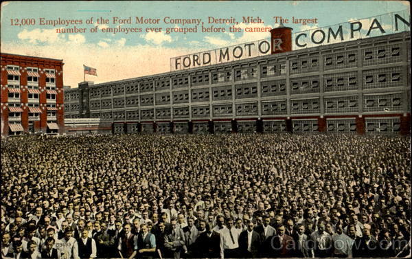 Ford motor company detroit mi for Ford motor company employee login