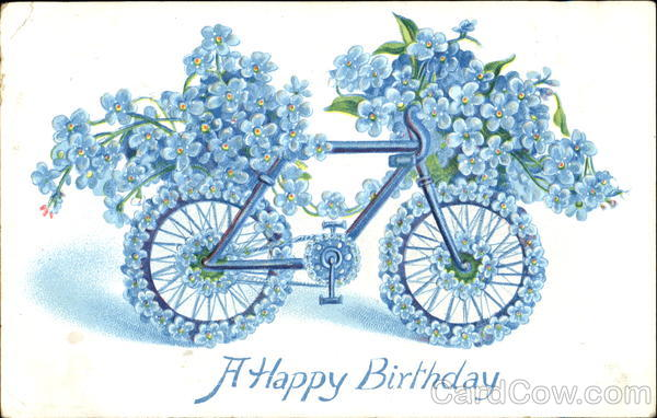 A Happy Birthday Bicycles