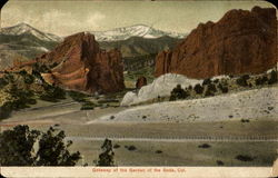 Gateway Of The Garden Of The Gods