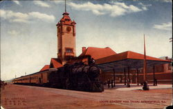 Union Station And Train