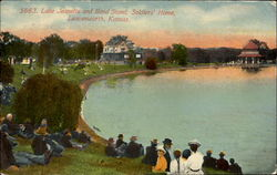 Lake Jeanette And Band Stand, Soldiers Home