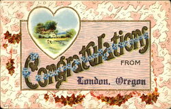 Congratulations From London