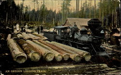 An Oregon Logging Train
