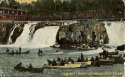 Salmon Fishing Willamette Falls