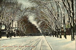 Winter Scene, Fifth Avenue