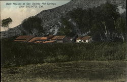 Bath Houses At San Jacinto Hot Springs