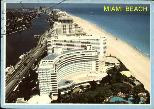 Hotels In Miami Beach >> The Fontainebleau Hilton Hotel Miami Beach, FL