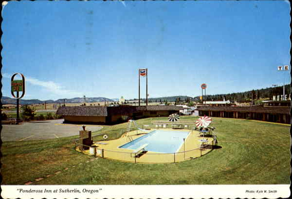 Ponderosa Inn, Interstate 5 at Sutherlin Exit Oregon