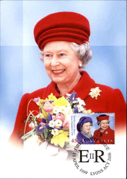 Queen's Birthday 1999 First Day Covers Royalty