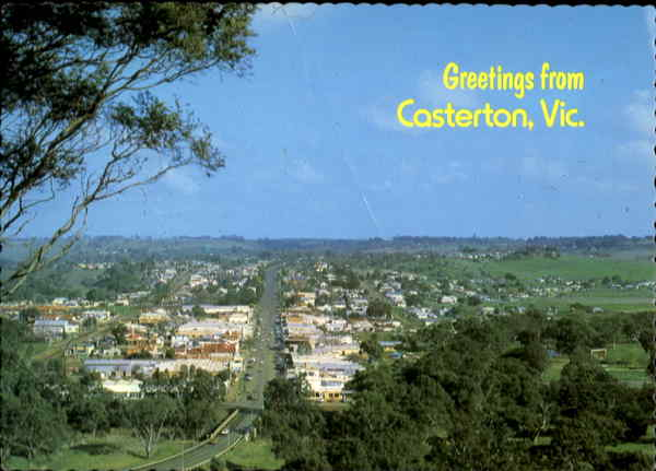 Greetings From Casterton Victoria Australia
