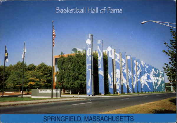 Basketball Hall Of Fame Springfield Massachusetts